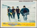 Beatles HELP lobby card movie poster 1965!