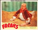 Freaks, RARE Original Lobby Card woman turn freak 1949