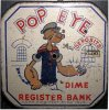 Popeye Rare Toy Bank 1929