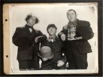 THREE STOOGES Original Vintage Keybook Promotional Photo Still