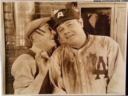 BABE COMES HOME Original Vintage Delux Still Photo Babe Ruth