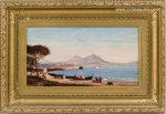 FRANK HENRY SHAPLEIGH Antique VintageOil Painting For Sale