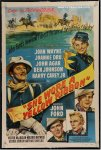She Wore Yellow Ribbon vintage movie poster lobby John Wayne
