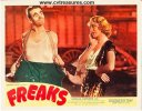 Freaks, RARE Original Lobby Card deaf clown 1949