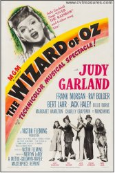 Wizard of Oz, Original Vintage One Sheet Vintage Movie Poster