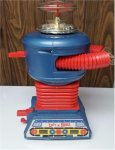 Lost in Space vintage REMCO Robot Rare BLUE Version, 1966