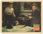 CHARLIE CHAN IN CITY IN DARKNESS lobby card with Lon Chaney Jr