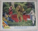 Wizard of OZ Vintage Movie Poster Lobby Card Lion