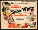 Disney's Snow White and the Seven Dwarfs Movie Poster Half Sheet