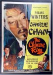 "Charlie Chan ""The Chinese Ring"", 1947 Roland Winters One Sheet"