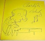 "Charles Schulz RARE Original Signed Sketch Drawing ""Schroeder"""