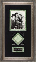 Marx Brothers Early Vintage Autographs, ALL FOUR!