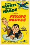 Flying Deuces Laurel & Haryd Original Vintage Movie Poster
