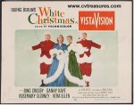 White Christmas Bing Crosby Vintage Title Card 1954