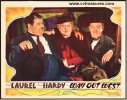 Laurel & Hardy Way Out West Original Vintage Lobby Card 1937