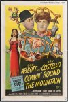 Abbott & Costello Comin' Round the Mountain - one sheet - 1951