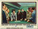Oceans 11 Lobby Card Rat Pack close up 1960