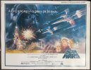Star Wars movie poster Vintage Sci Fi Half Sheet Poster 1977
