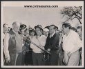 Babe Ruth-Bob Hope-Bing Crosby Original Vintage Press Photo