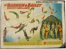 Vintage Circus Poster BARNUM & BAILEY VIENNESE TROUPE 1905