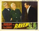 Raven Original Vintage Lobby Card Movie Poster Karloff Lugosi