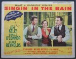 Singin' in the Rain Original Vintage Lobby Card Movie Poster 2