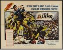 John Wayne Alamo Western Movie Poster half-sheet