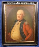 British General Cornwallis Oil Painting 18th Century