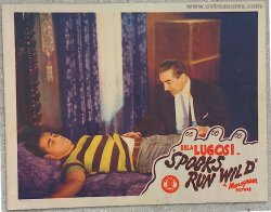 Spooks Run Wild Original Vintage Horror lobby card Bela Lugosi