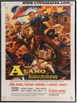 John Wayne Alamo vintage Western Movie Poster one sheet - 1960