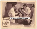 Three Stooges I Can Hardly Wait vintage Lobby Card 1943