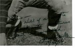 John Wayne Autographed Photo RARE Football Shot!