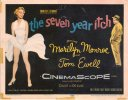 Seven Year Itch - Marilyn Monroe Vintage Title Lobby Card, 1955