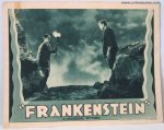 Frankentein Original Vintage Movie Poster Lobby Card Karloff