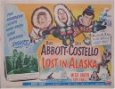 "Abbott & Costello Lost in Alaska, 1952 Title Card (11x14"")"