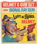 Lost In Space Rare Helmet and Gun Set with Box by Remco 1966