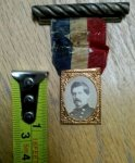 Abraham Lincoln/George B. McClellan Presidential Campaign Badge