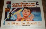 A Star Is Born Vintage Movie Poster Judy Garland half sheet