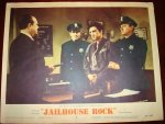 Jailhouse Rock Elvis Presley Vintage Lobby Card 1957 Police stat