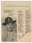 Frank Sinatra Signed Autographed Here to Eternity Photo NICE!