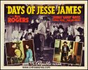 Days of Jesse James Western Movie Posters Roy Rogers half sheet