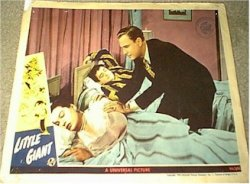 Abbott & Costello Little Giant - original lobby card - 1945