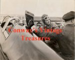 Charles Lindbergh - Historic Wire Service photo 1938 -3