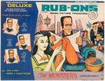 Munsters Rub-Ons Magic Picture Transfers Set 1965