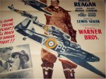 International Squadron Ronald Reagan movie poster one sheet 1941