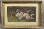 Hunting Dogs - Extraordinary Watercolor