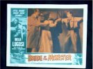 Bride of the Monster, 1955 Bela Lugosi Classic Lobby Card