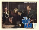 Wolf Man Original vintage lobby card movie poster Lon Chaney