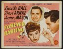 Forever Darling Original Vintage Lobby Card Lucy Ball