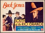 South of the Rio Grand VintageTitle Card Movie Poster Buck Jones
